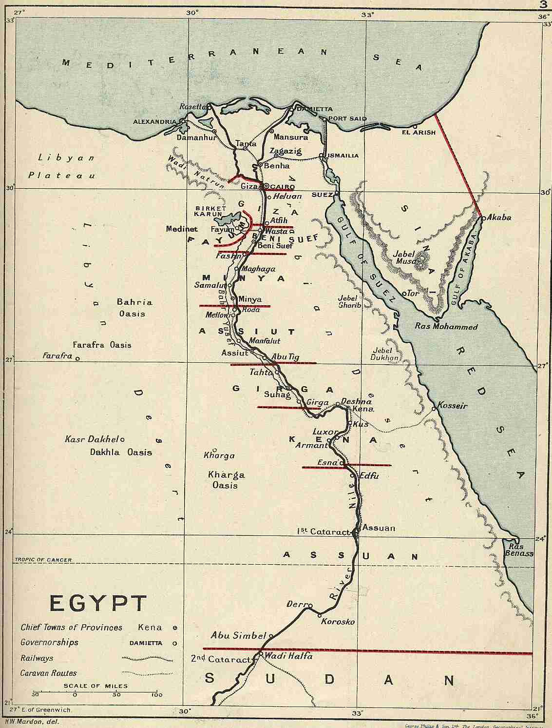 Old Maps Od Egypt Sudan - Map of egypt and sudan