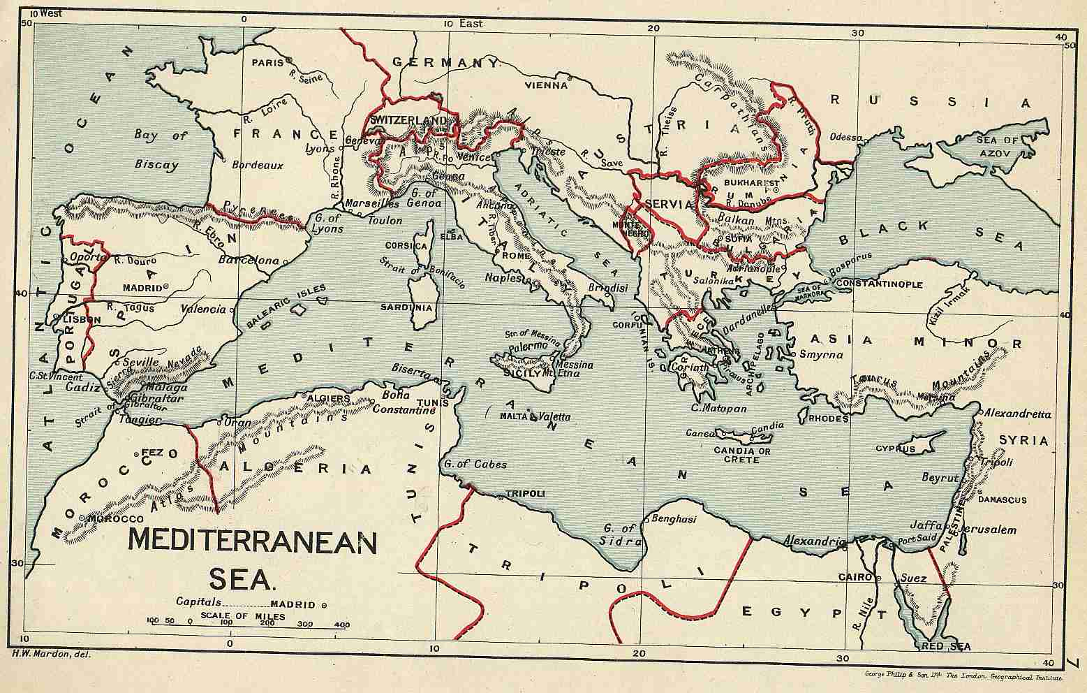 Old Maps od Egypt & Sudan