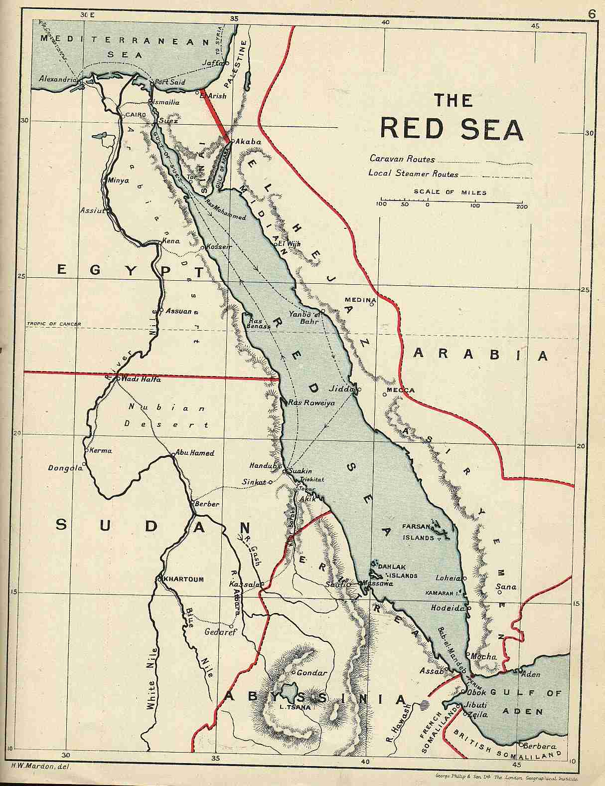 Map Red Sea coverage map southeast us map